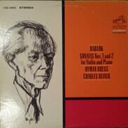 Bartók - Sonatas Nos. 1 And 2 For Violin And Piano