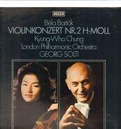 Béla Bartók / G. Solti, Kyung-Wha Chung, London Philharmonic Orchestra - Konzert für Violine und orchester Nr. 2 h-moll