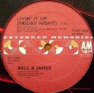 Bell & James / E.G. Daily - Livin' It Up / Say It, Say It