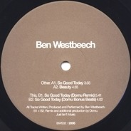 Ben Westbeech - So Good Today