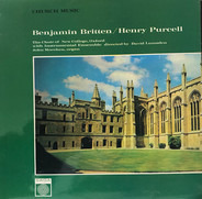 Benjamin Britten , Henry Purcell , The New College Oxford Choir - Church Music
