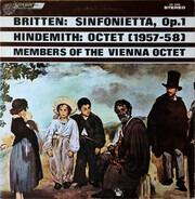 Benjamin Britten / Paul Hindemith , Mitglieder Des Wiener Oktetts - Sinfonietta, Op. 1 – Octet (1957–8)