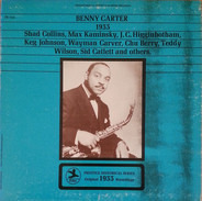 Benny Carter - 1933