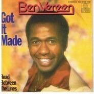 Ben Vereen - Got It Made / Read Between The Lines
