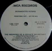 Bernadette Peters - The Weekend Of A Private Secretary