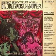 Bertolt Brecht / Kurt Weill, Kurt Gerron, Lewis-Ruth-Band a.o. - Die Dreigroschenoper