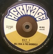 Bill Deal & The Rondells - May I / Day By Day My Love Grows Stronger