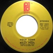 Billy Paul - Me And Mrs. Jones / Your Song