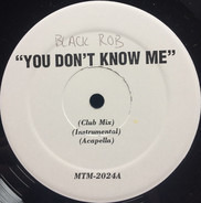 Black Rob / Nas / Slick Rick - You Don't Know Me / Stay Schemin / Why, Why, Why