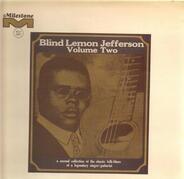 Blind Lemon Jefferson - Volume Two