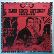 Blind Lemon Jefferson - Master Of The Blues Vol. 2 1926-29
