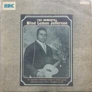 Blind Lemon Jefferson - The Immortal Blind Lemon Jefferson