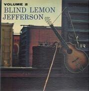 Blind Lemon Jefferson - Volume 2