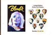 Blondie - Blondie limited edition guitar pick display