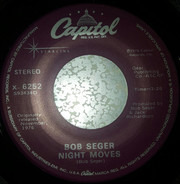 Bob Seger - Night Moves / Mainstreet