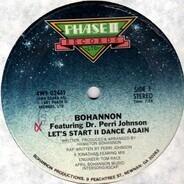 Hamilton Bohannon Featuring Dr. Perri Johnson - Let's Start II Dance Again