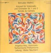 Bohuslav Martinů - Angelica May - Konzert für Violoncello & Orchester Nr.1 & 2 / Sonata da Camera