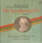 Bohuslav Martinů - V. Neumann - Symphonies 1-6, Inventions For Orchestra & Piano