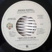 Brenda Russell - I Want Love To Find Me