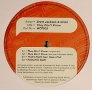 Brett Jackson & Orion - They Don't Know