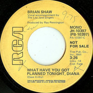 Brian Shaw - What Have You Got Planned Tonight, Diana