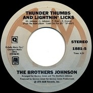 Brothers Johnson - Thunder Thumbs And Lightnin' Licks
