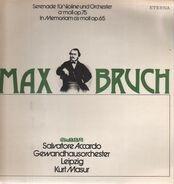 Bruch (Masur) - Serenade für Violine und Orchester a-moll / In Memoriam cis-moll