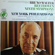 Bruno Walter join The New York Philharmonic Orchestra - Beethoven Ninth Symphony (Chorale)
