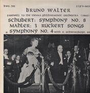 Bruno Walter / Schubert / Mahler - Symph. No 8 / 3 Rückert Songs / Symph. No 4 (Schwarzkopf)
