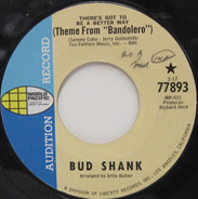 Bud Shank - (There's Got To Be A Better Way) Theme From 'Bandolero' / Tour D' Amour
