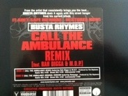 Busta Rhymes Featuring Rah Digga & M.O.P. - Call The Ambulance Remix
