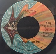 Byron MacGregor / The Westbound Strings - Americans / America The Beautiful