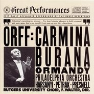 Carl Orff - André Previn With The London Symphony Orchestra - Carmina Burana