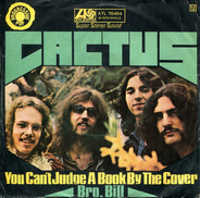 Cactus - You Can't Judge A Book By The Cover