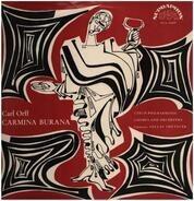 Carl Orff - Teodor Šrubař , Milada Šubrtová , Jaroslav Tománek , The Czech Philharmonic Orchestra , - Carmina Burana