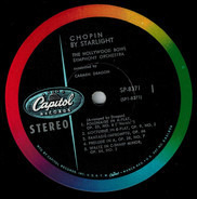Carmen Dragon Conducting The Hollywood Bowl Symphony Orchestra - Chopin By Starlight