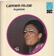 Carmen McRae - In Person