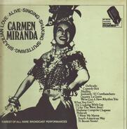 Carmen Miranda - Rarest Of All Rare Broadcasts