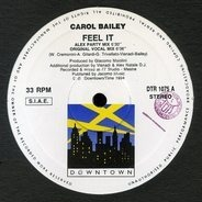 Carol Bailey - Feel It