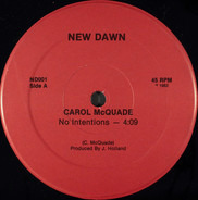 Carol McQuade - No Intentions