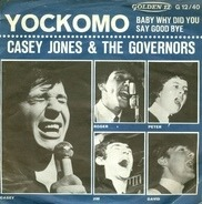 Casey Jones & The Governors - Yockomo / Baby Why Did You Say Goodbye