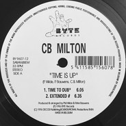 CB Milton - Time Is Up