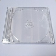 CD Leerbox (Jewel Case) - mit Tray