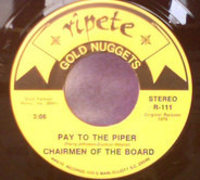Chairmen Of The Board - Dangling On A String / Pay To The Piper