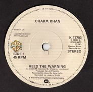 Chaka Khan - Heed The Warning