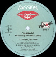 Charade Featuring Norma Lewis - Victim Of Love / Break Me / I'm The One