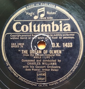 Charles Williams Concert Orchestra - The Dream Of Olwen / While I Live
