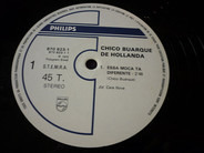 Chico Buarque - Essa Môça 'Tà Diferente (Spécial DJ)
