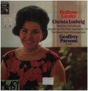 Christa Ludwig , Geoffrey Parsons , Johannes Brahms - Christa Ludwig Singt Brahms Lieder