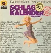 Christian Anders, Shirley Bassey a.o. - Schlager Kalender 1963-1973